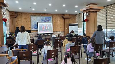 10월17일 아동부 예배모습